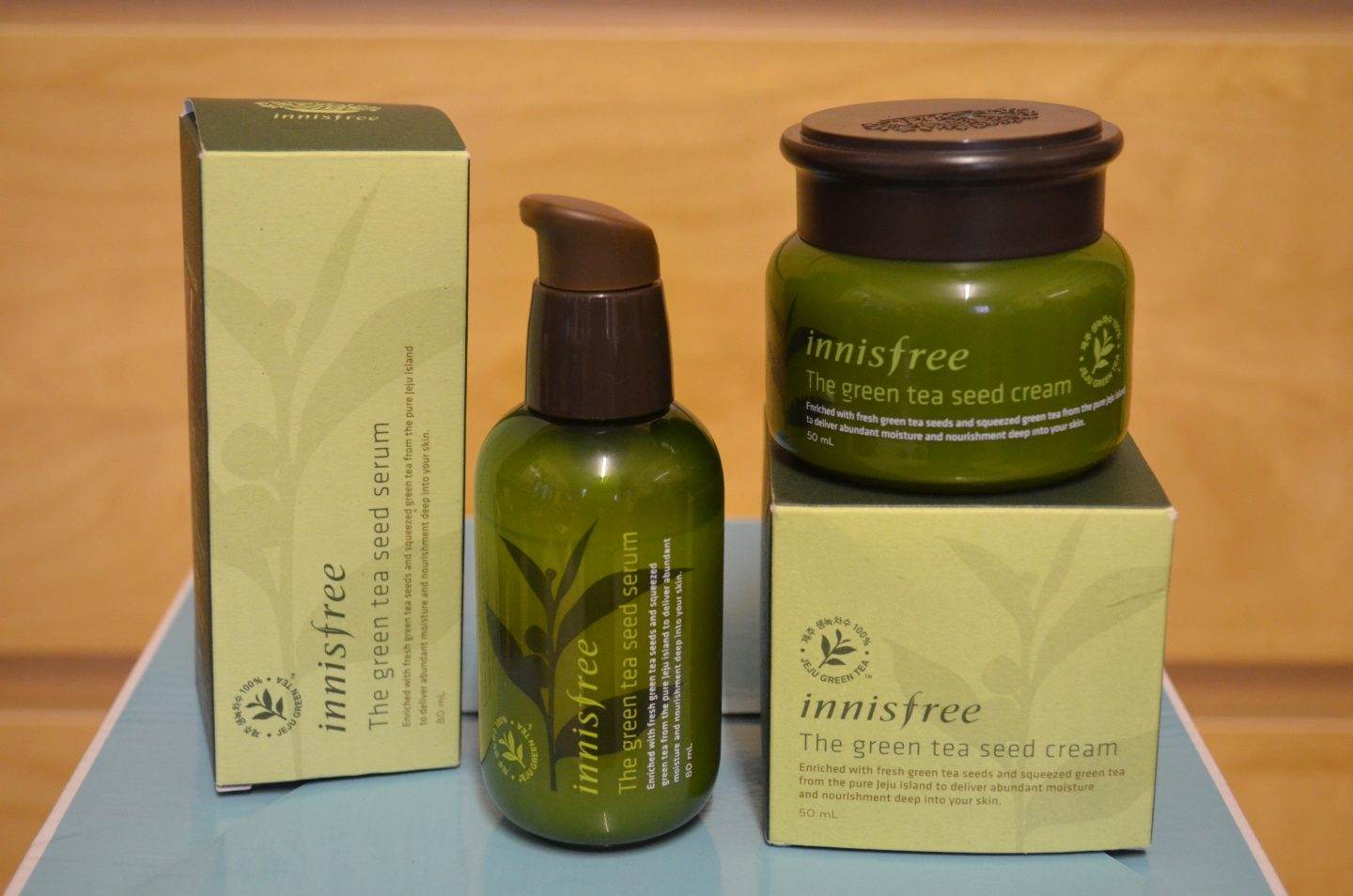 REVIEW: Innisfree Green Tea Seed Serum & Cream