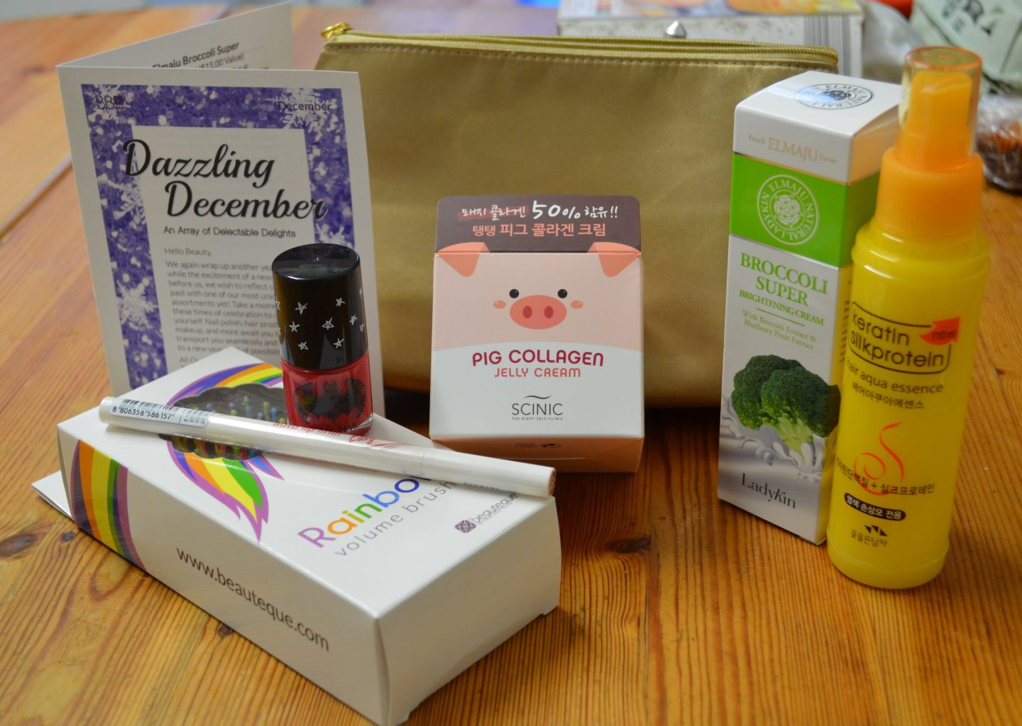 Beauteque Bag December 2015