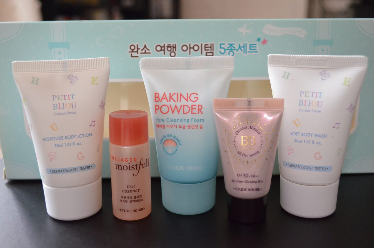 Initial Impression: Etude House Must Have Travel Item Set