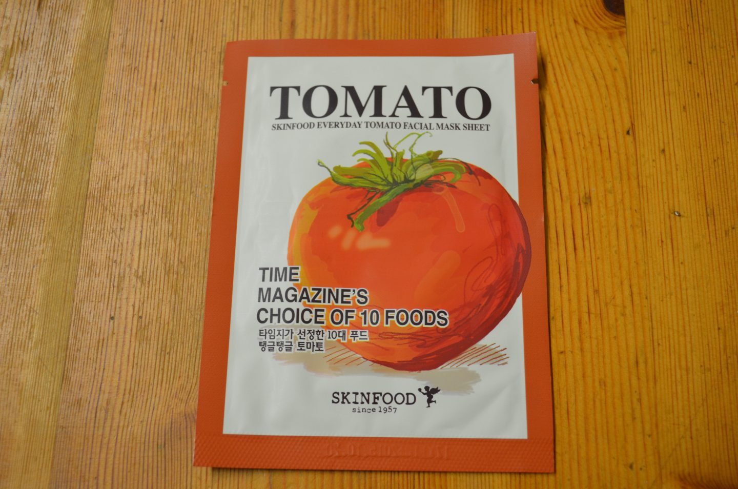Skinfood Everyday Facial Mask Sheet – Tomato