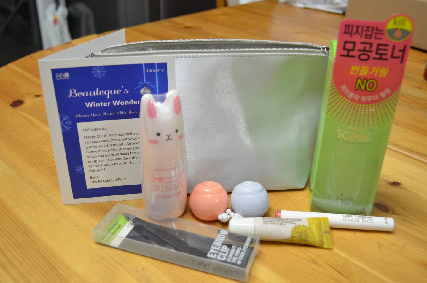 Beauteque Bag January 2016