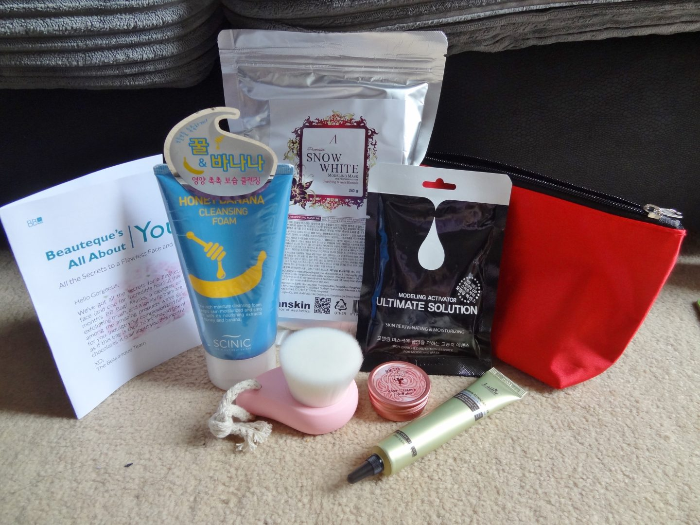 Beauteque Bag February 2016