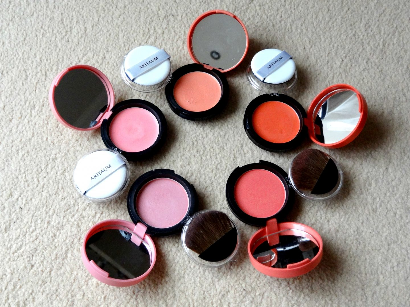 REVIEW: Aritaum Sugarball Cushion/Velvet Blushers + Swatches