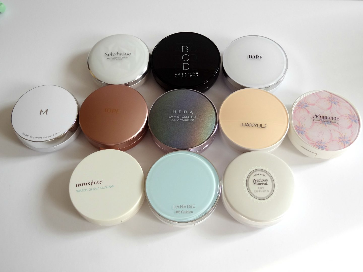 What are cushion compacts?