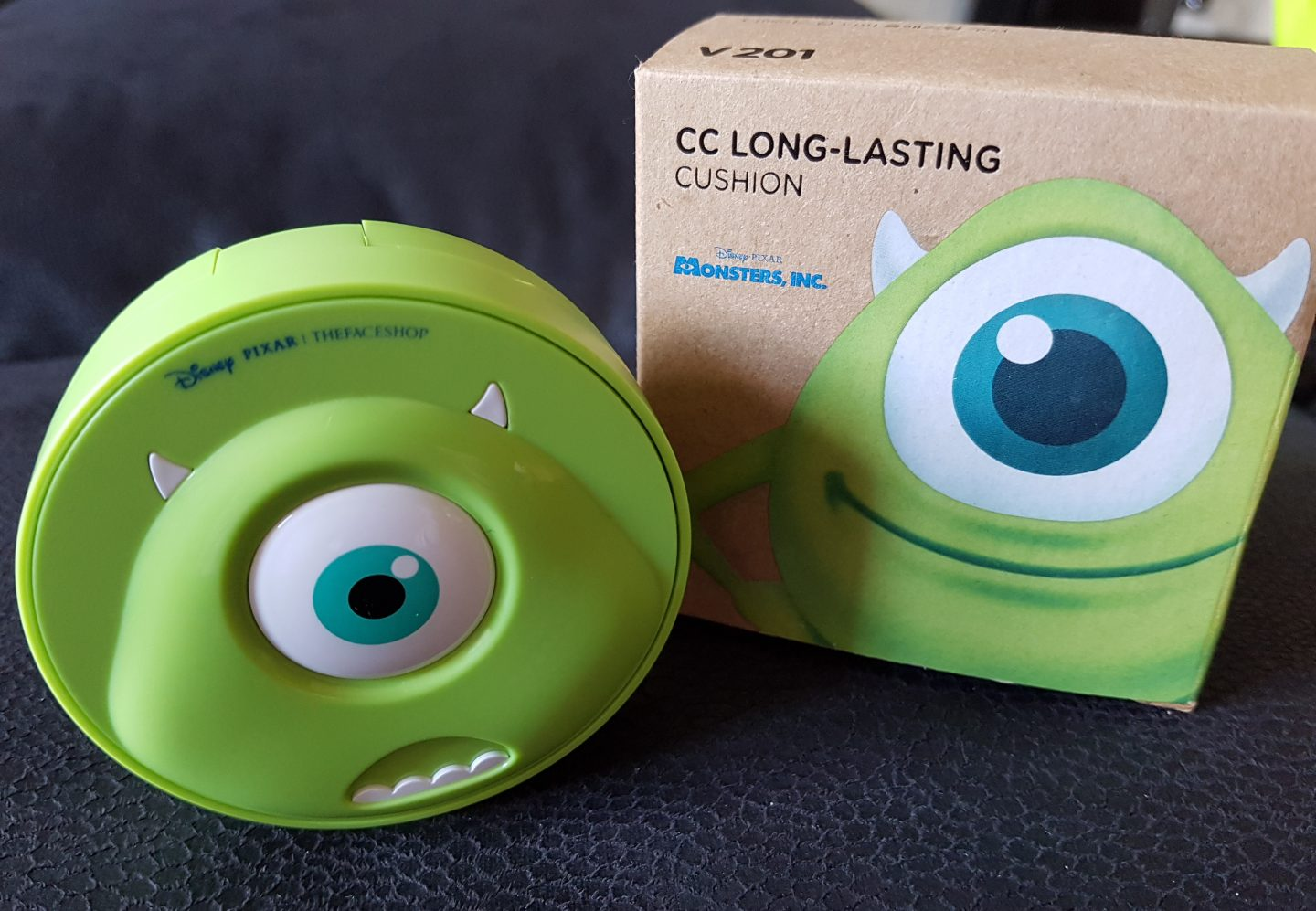 The Face Shop x Disney – Mike CC Long Lasting Cushion (V201)