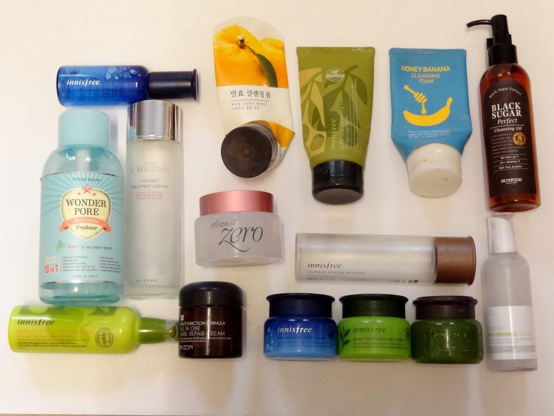 Skincare Empties 2016!
