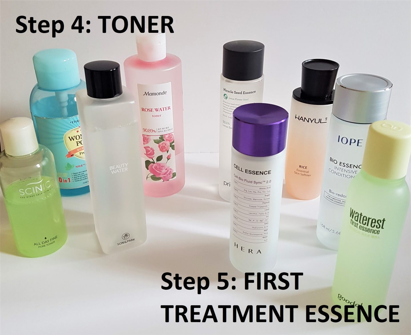 KOREAN SKINCARE ROUTINE 101: Part 2: Toner & First Treatment Essence