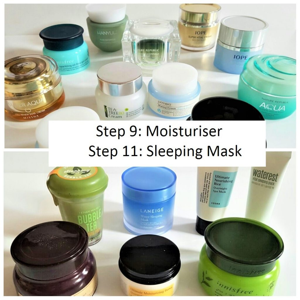 KOREAN SKINCARE ROUTINE 101: Part 4: Moisturiser & Sleeping Mask