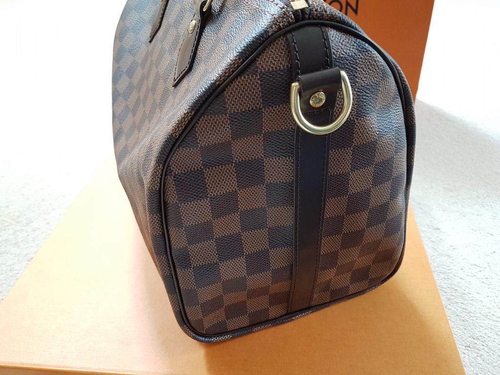 Louis Vuitton Speedy Bandouliere 30 Damier Ebene.