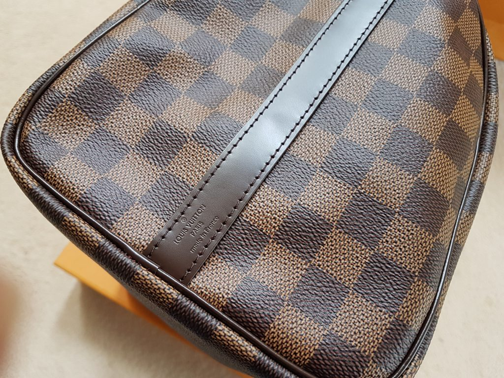 Louis Vuitton Speedy Bandouliere 30 Damier Ebene. Made in france