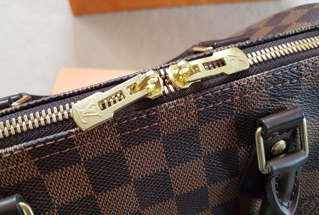 Louis Vuitton Speedy Bandouliere 30 Damier Ebene