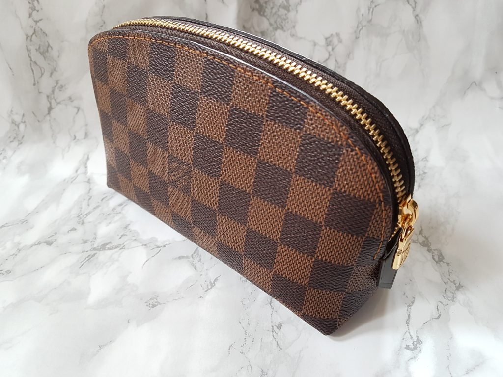 08cca4983362 Louis Vuitton cosmetic pouch review + What s in my makeup bag 2018