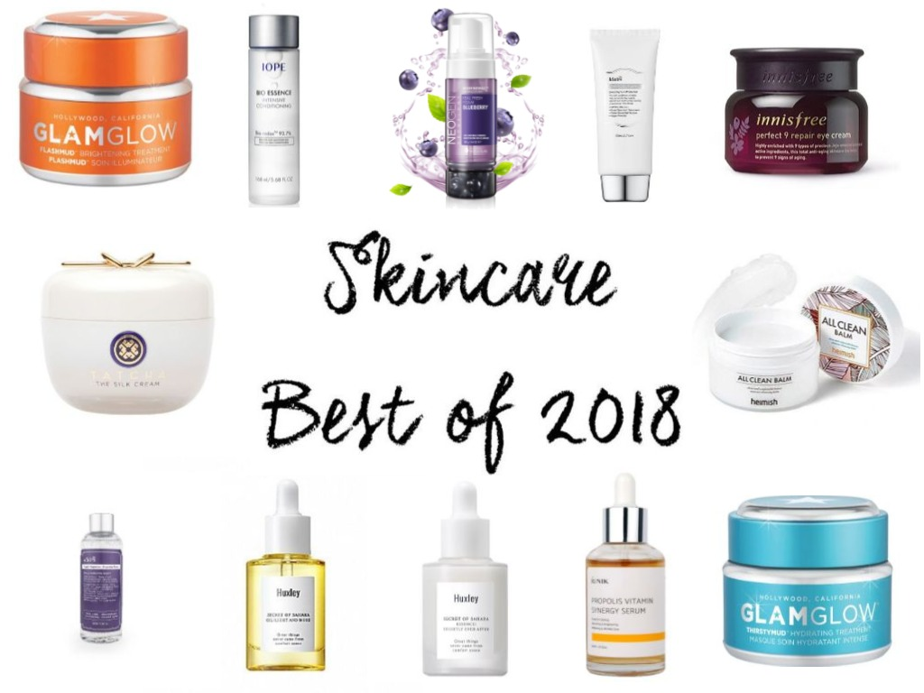Top Skincare of 2018