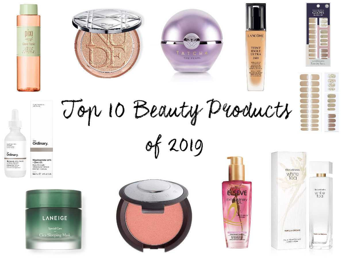 Top 10 Beauty Products of 2019